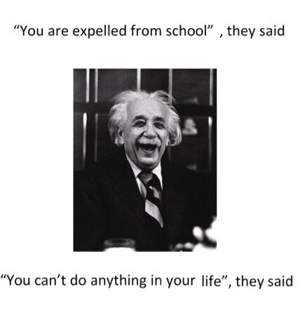 you are expelled from school they said
